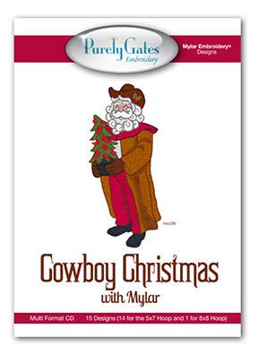 Cowboy Christmas with Mylar