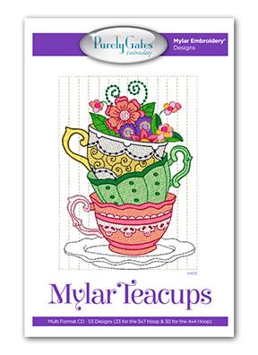 Mylar Teacups