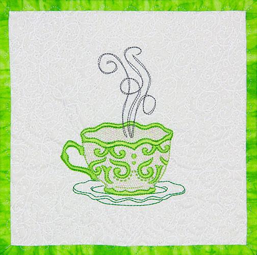 Mylar Teacups design sold separately.