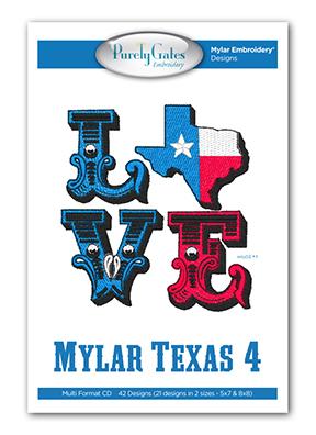 Mylar Texas 4