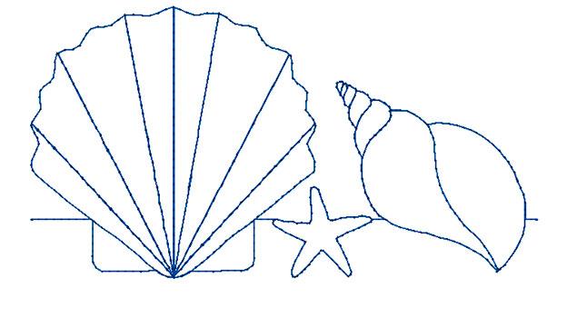 Border Quilt Motif 5x7