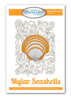 Mylar Seashells