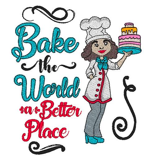 Bake the World Combo (8x8 & 9x9)