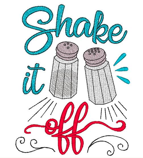 Shake it Off (5x7, 8x8, 9x9)