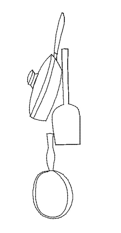 Border Quilt Motif Vertical (7in)