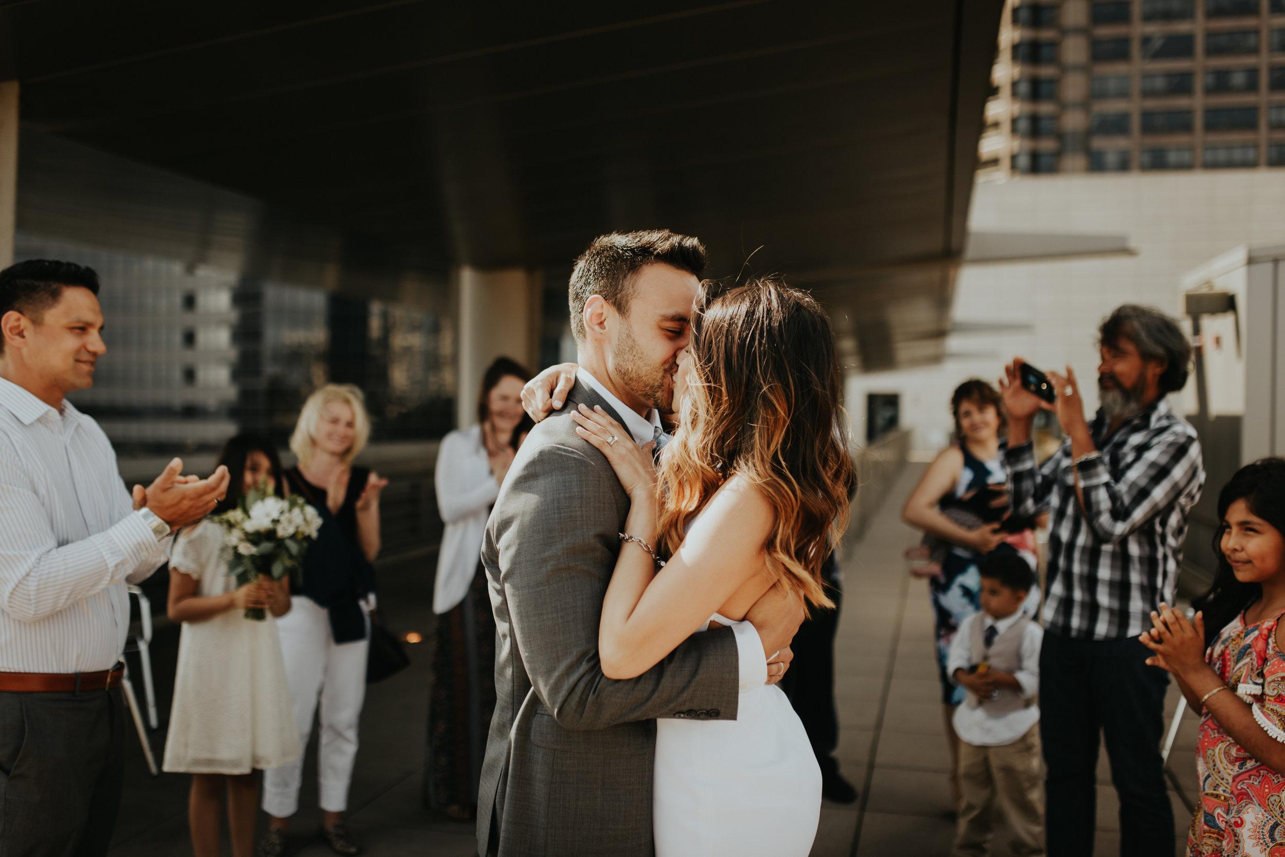 Seattle Courthouse Wedding | Seattle Wedding Photographer | Krissie Francis Photo
