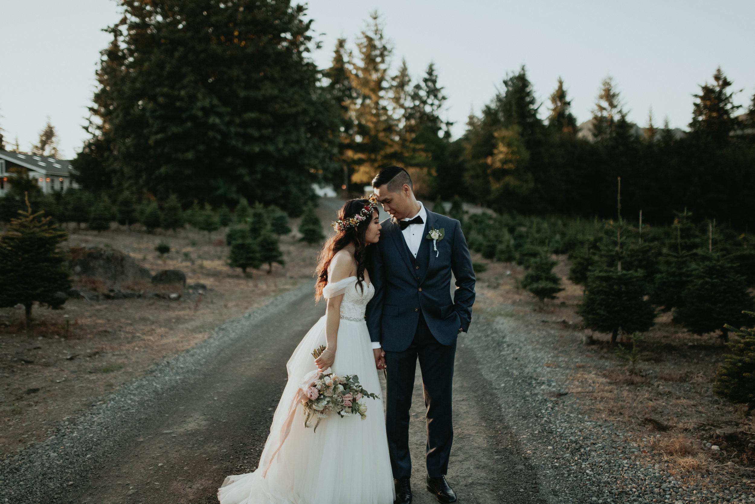seattle wedding photographer   olympia, wa   small wedding   small wedding venues seattle   intimate wedding photographer   trinity tree farm