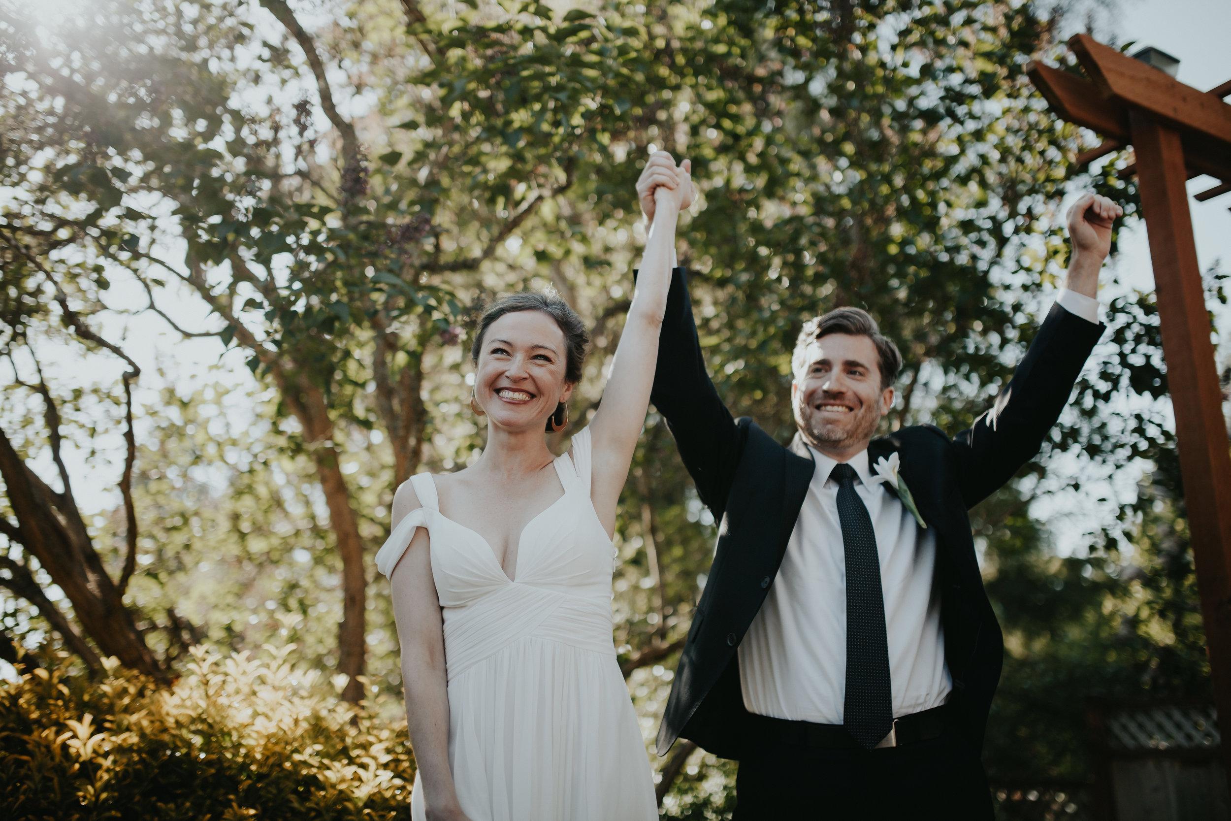 backyard summer wedding inspiration | krissie francis photo | seattle summer wedding