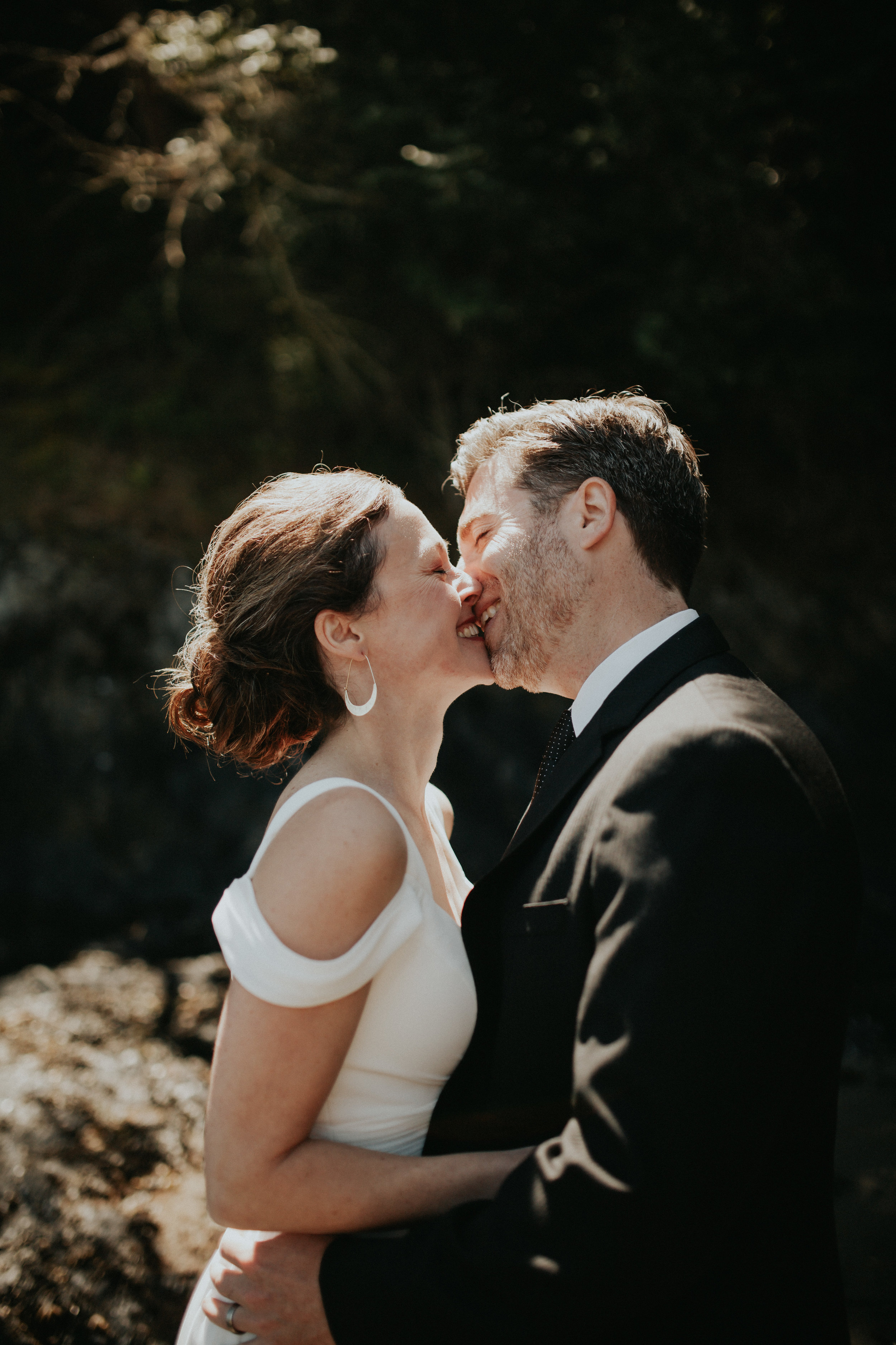 edmonds washington   backyard wedding inspiration   deception point pass state park wedding photos