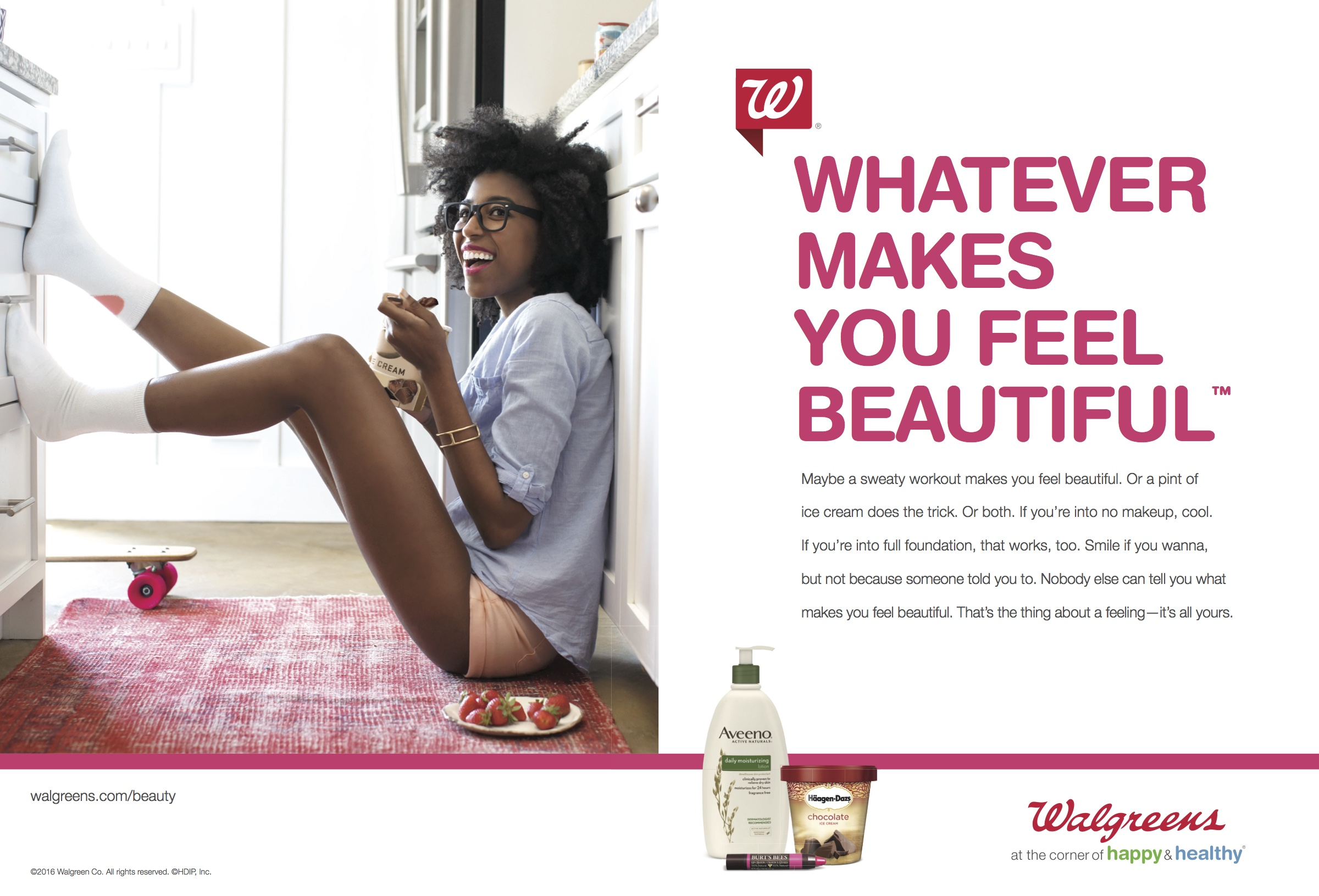 Walgreens Whatever Makes You Feel Beautiful — Kate Griffiths