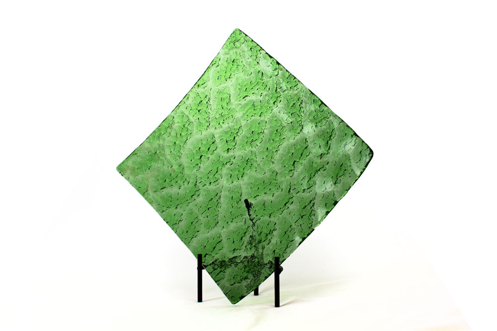 Recycled Antique Glass - Kiln formed