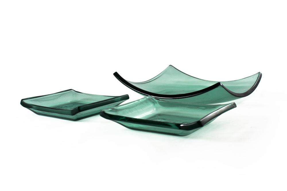 Recycled Window Glass - Kiln Formed