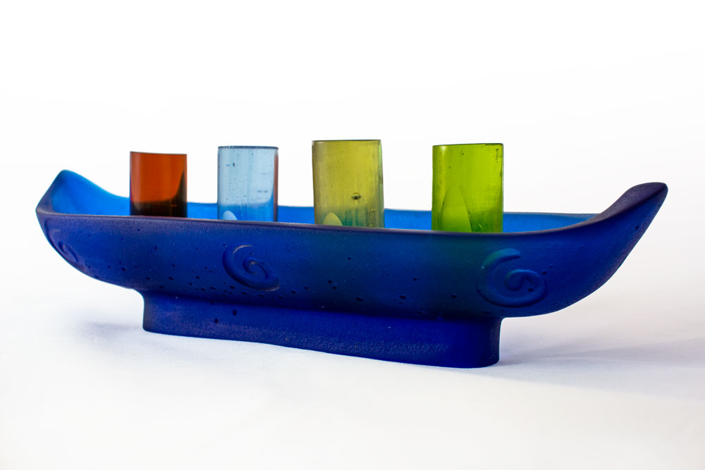 'Journey' Series - Kiln Cast Glass