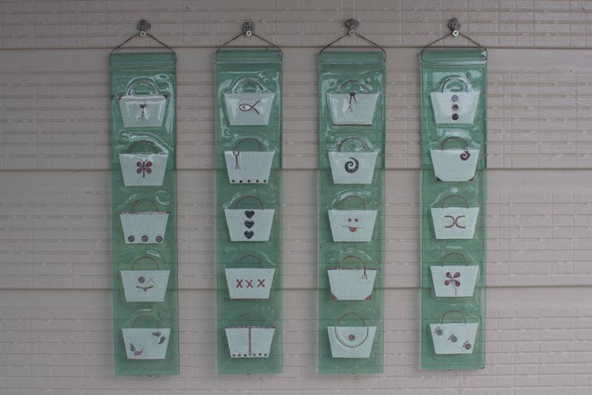 'Recycle & Renew' - Window Glass, Copper wire & Fibreglass