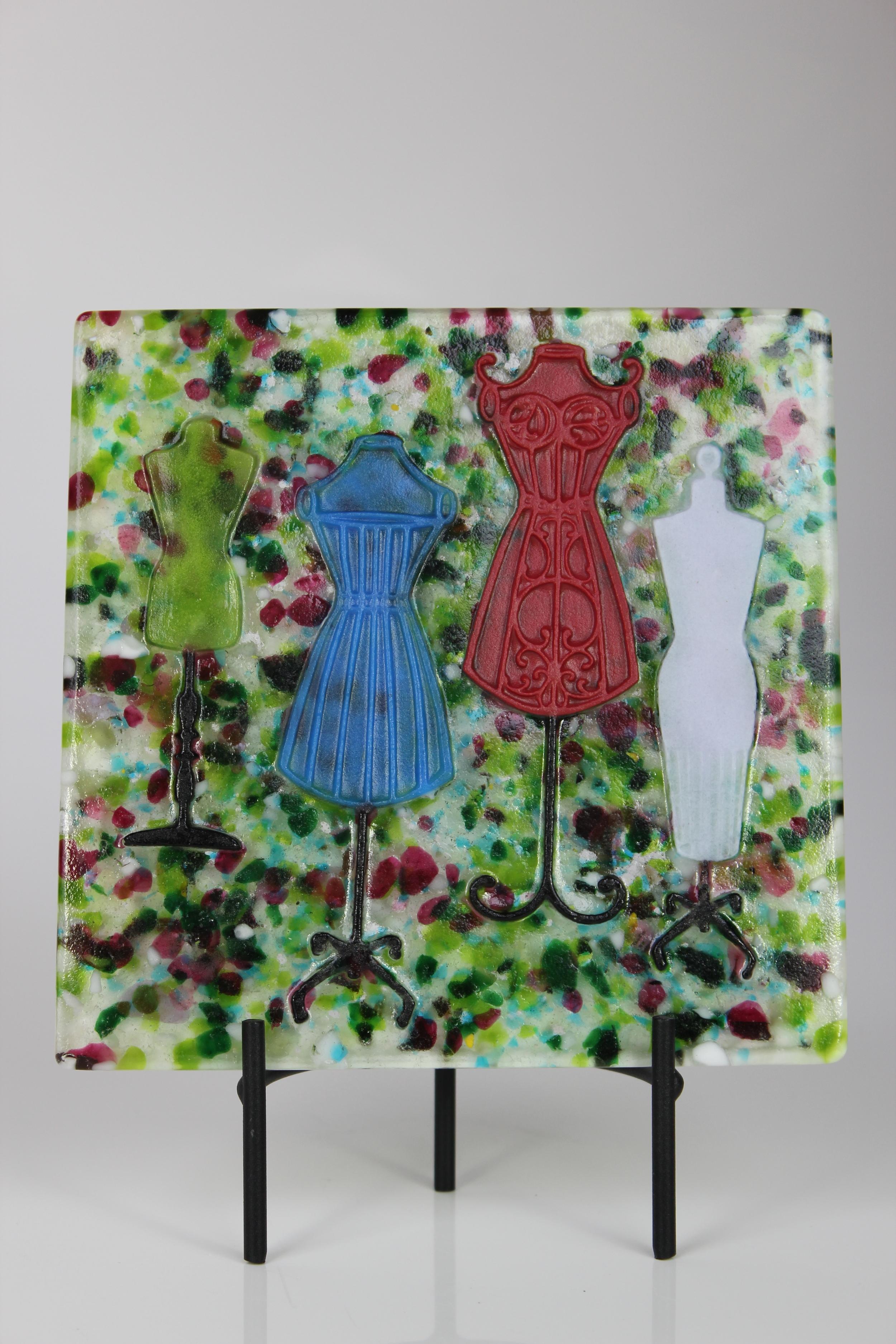 'Spring Fashion' - Pate De Verre