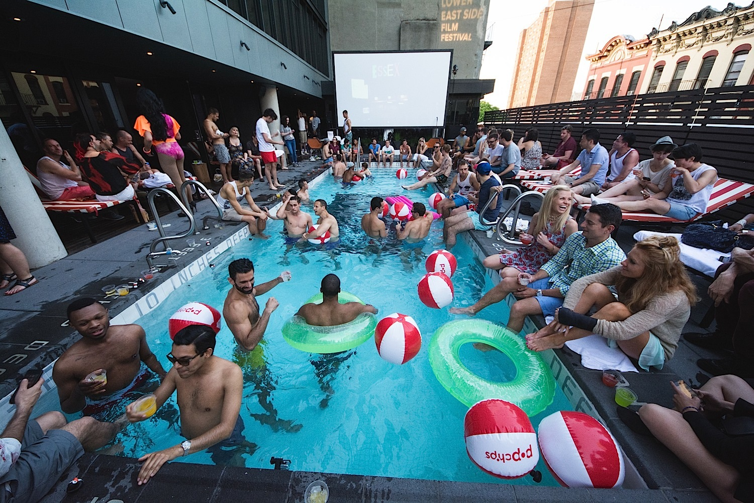 GAY NIGHT! Rooftop Pool Party & Screening hosted by OUT Magazine · 6.15.14