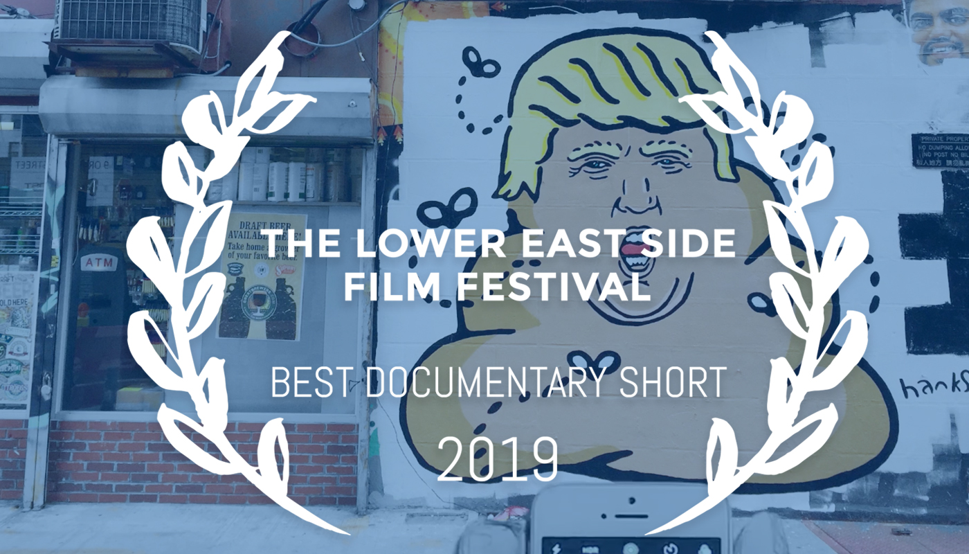 "'Legal Smuggling with Adam Lucas (Hanksy)"" won our 2019 Best Documentary Short Award!"