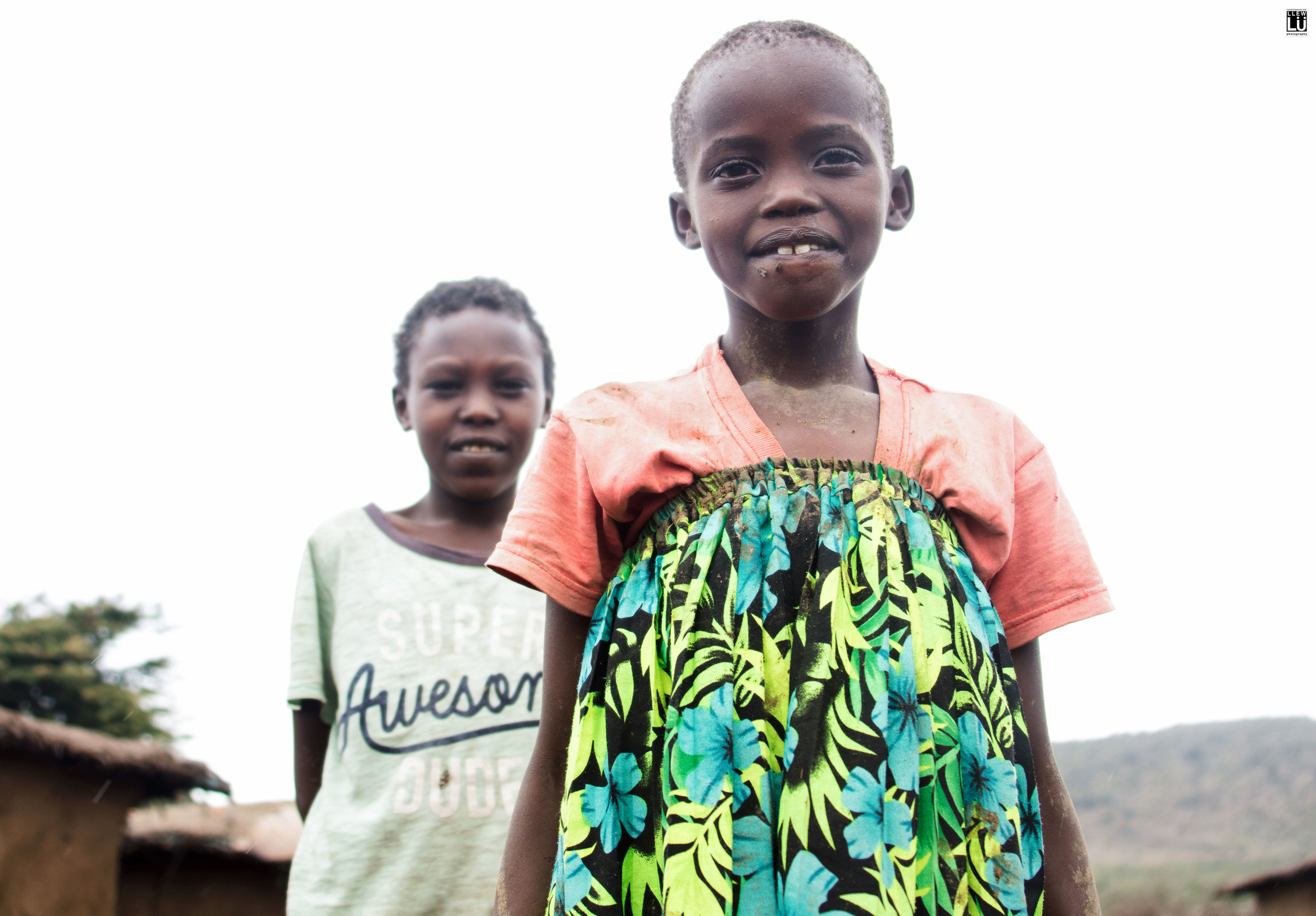 The children in the village were a pure delight!