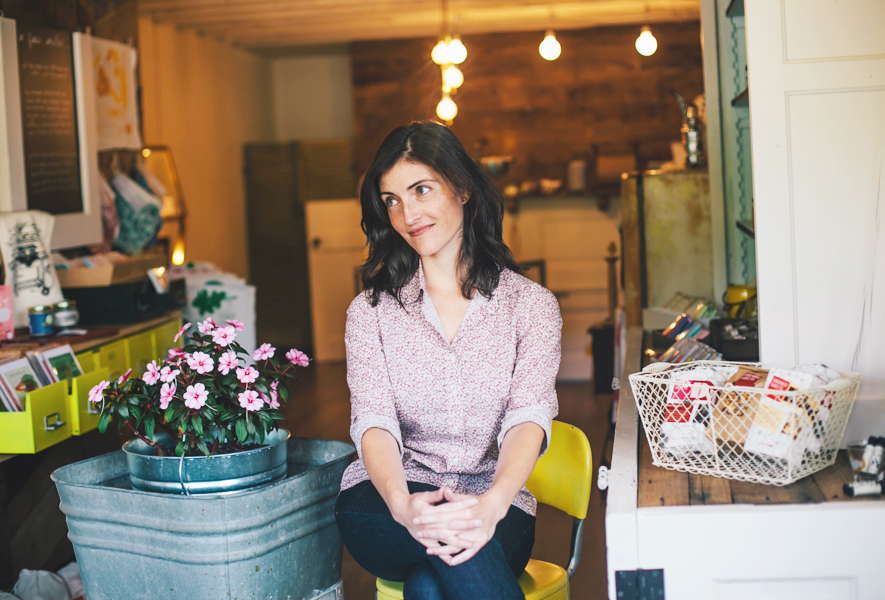 Courtney Webb, owner of Hey Rooster