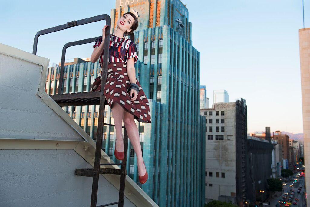 The MiA Project + Tarina Tarantino, featuring  Amy Roiland ,photographed by  Bobby Do Right .