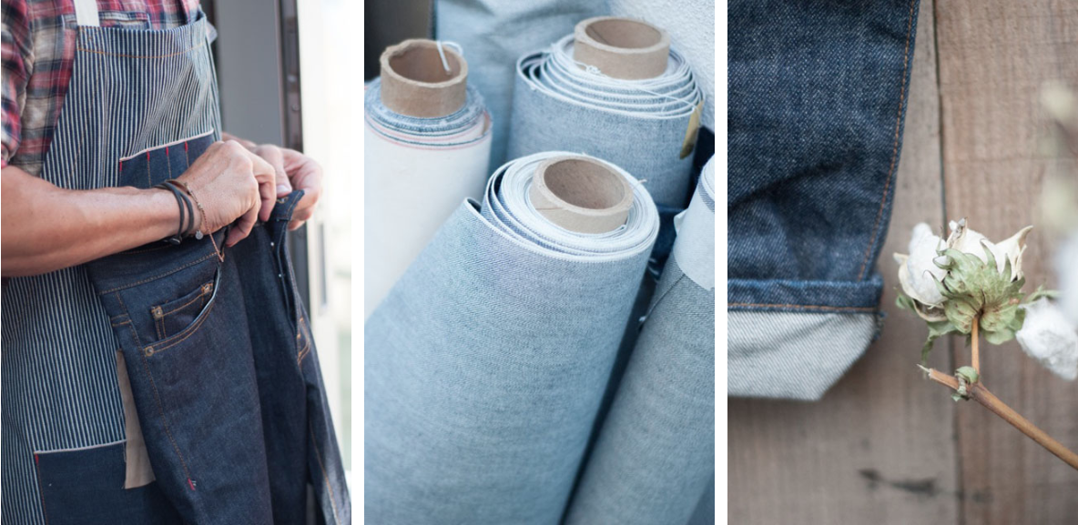 Norman Russell  - American made denim.