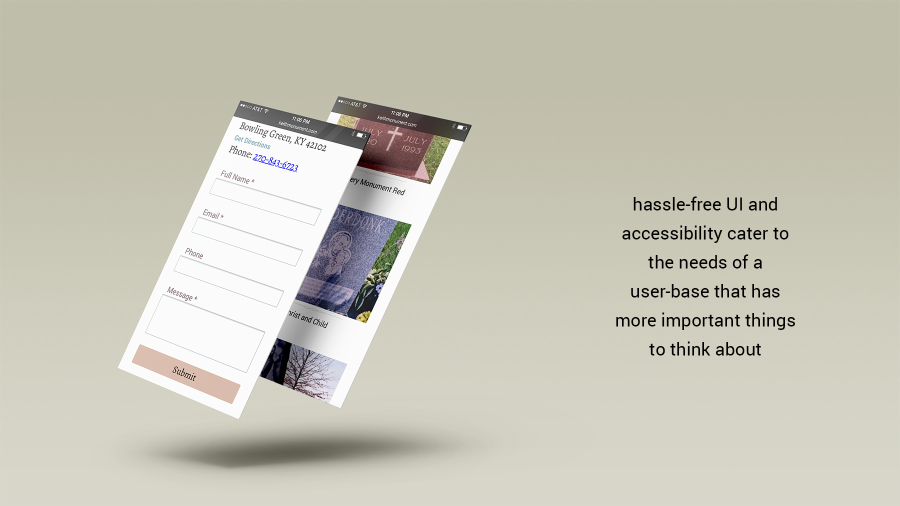 Hassle-free UI and accessibility cater to the needs of a user-base that has more important things to think about.