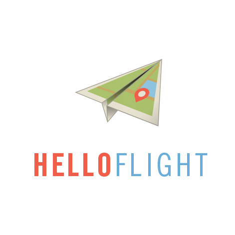 Hello Flight Logo  Flight tracker app
