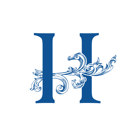 Hyland Handblown Glass logo  glass blowing, consumer, b2c, handmade, victorian
