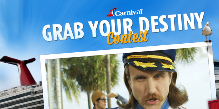 "Carnival Cruise Lines ""Grab Your Destiny"" Contest"