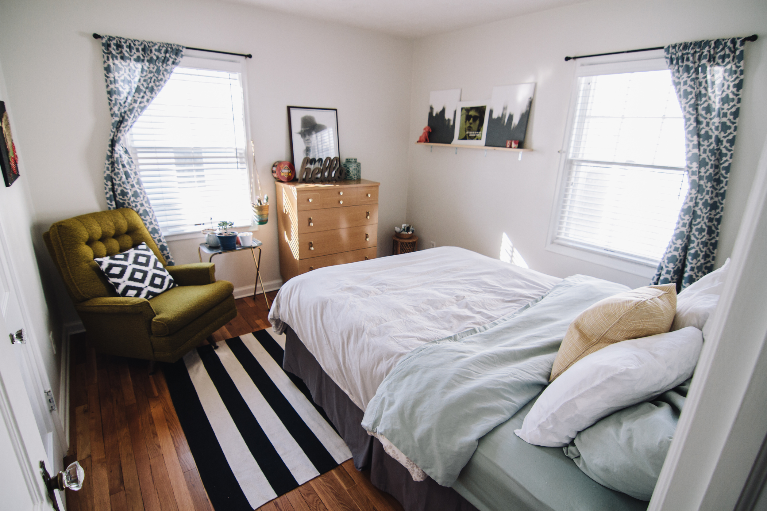I love the natural light this room gets!