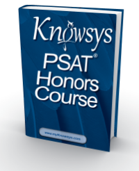 The NEW Knowsys PSAT Student Workbook - Ready for October 2015!