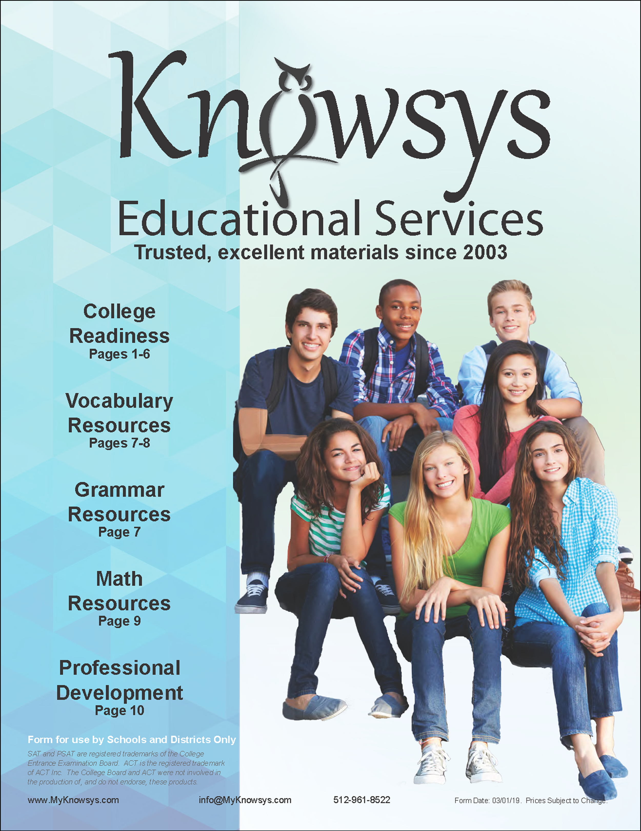 Knowsys Order Form