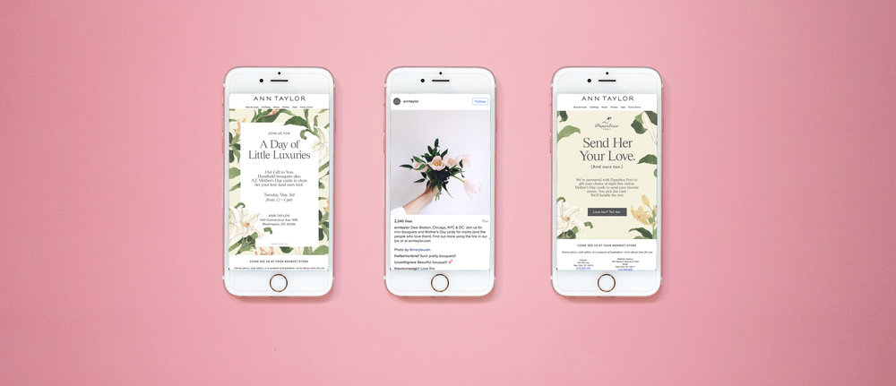 Ann Taylor | AT Mother's Day Cart Concept