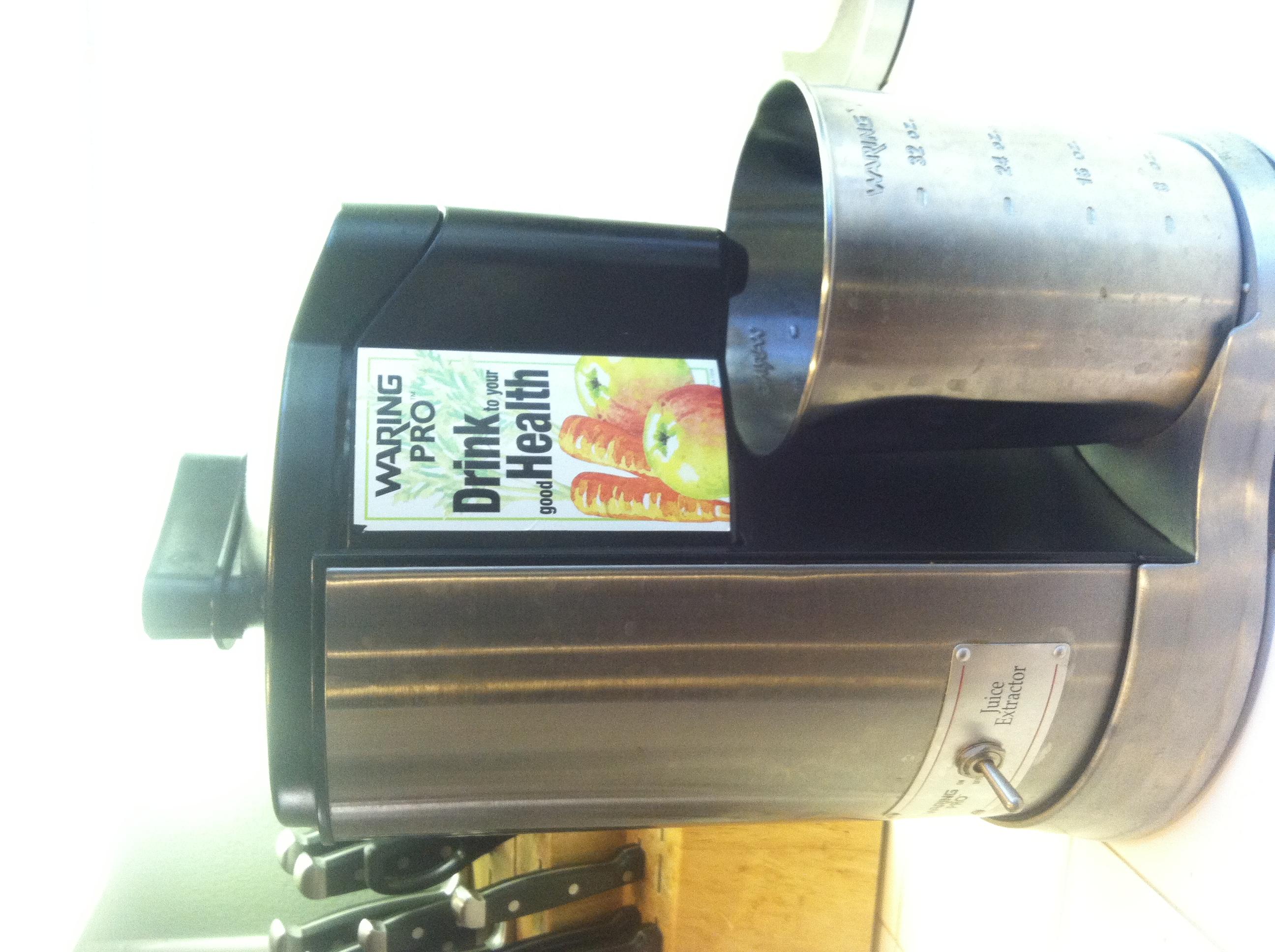 My centrifrugal juicer