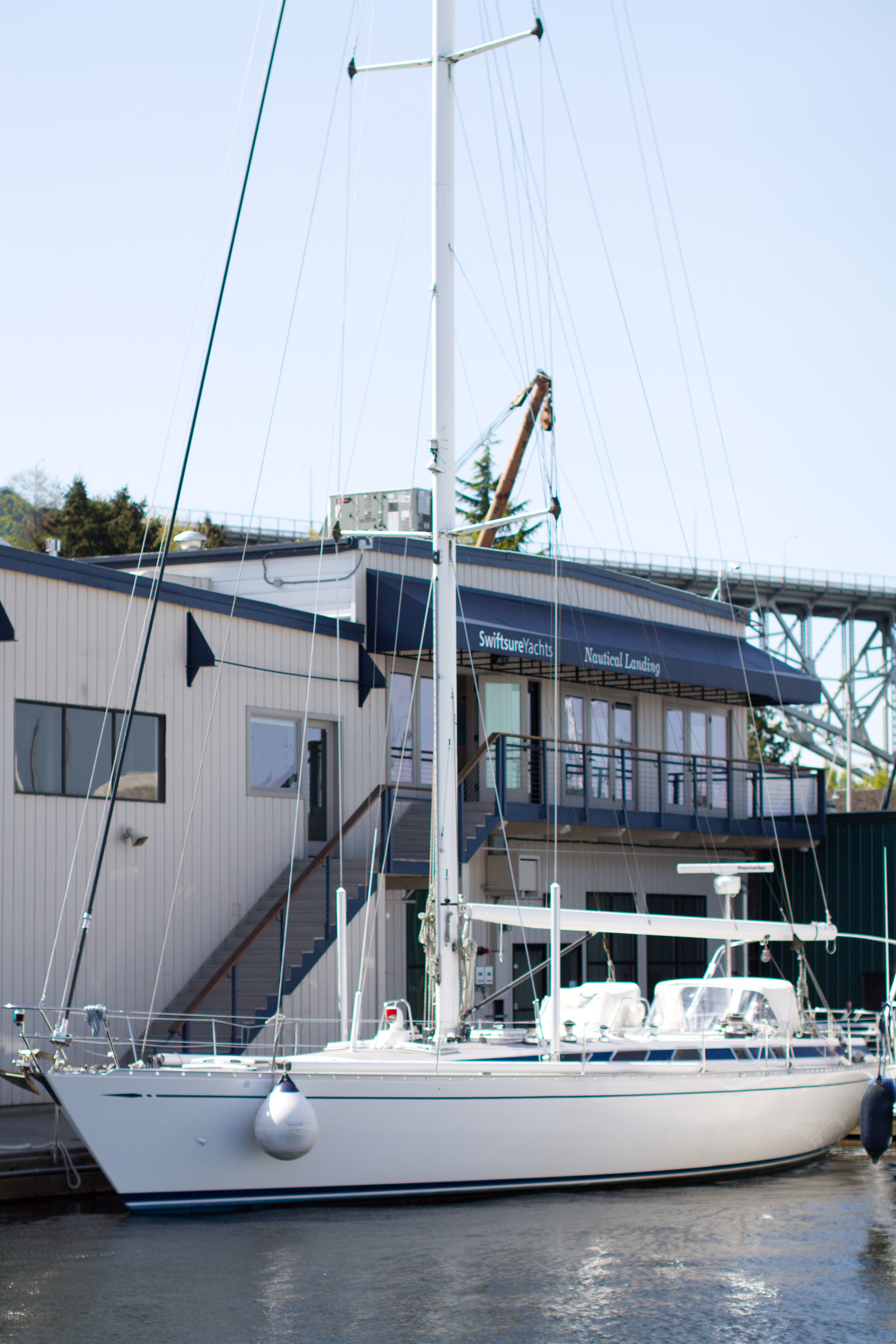 nautical landing building