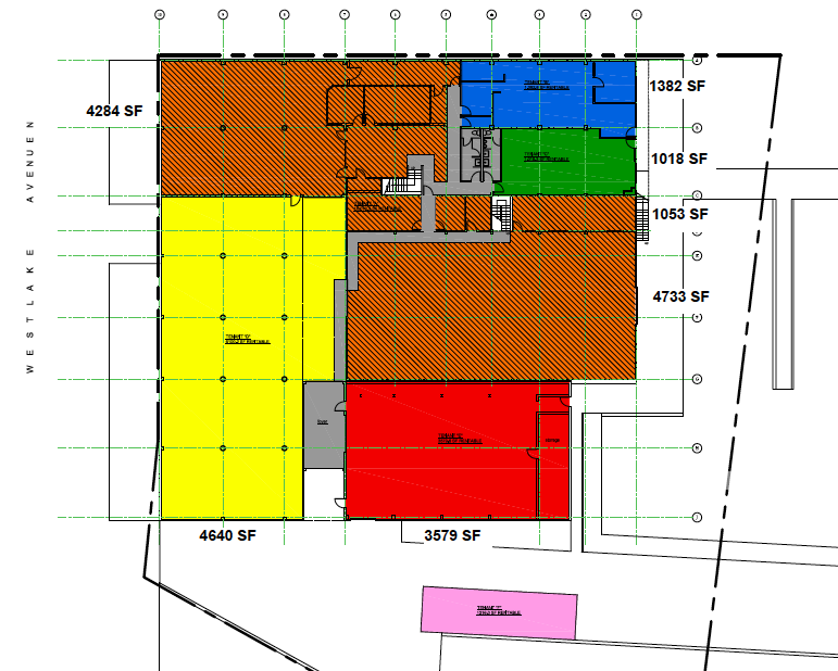 Lower Level Offices and Storage