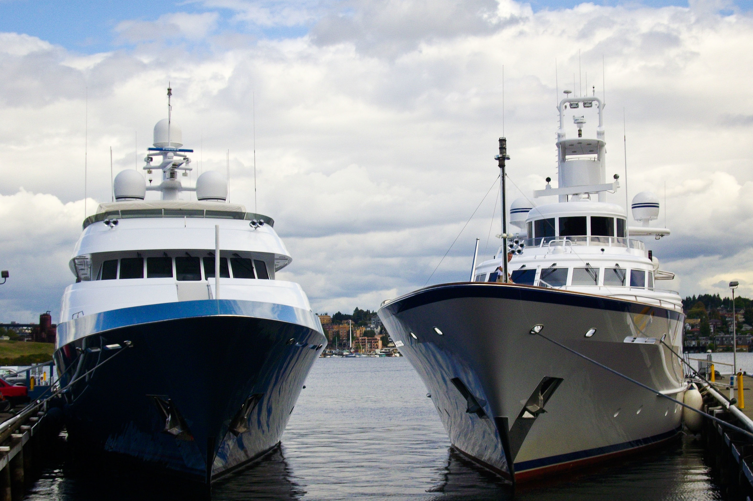 Two Superyacht