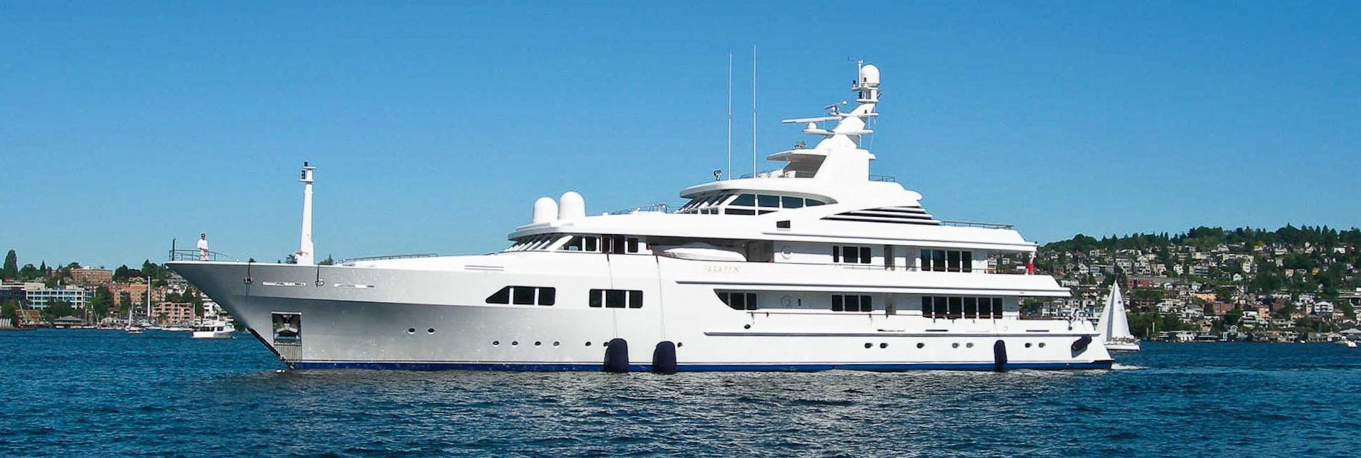 Nautical Landing Superyacht