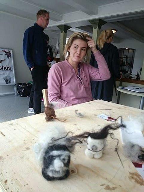 Make An Icelandic Troll With Wool Creative Iceland 12