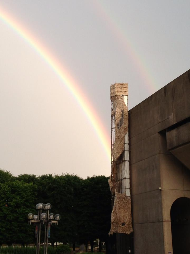 Great double rainbow image by Maureen Mckenna