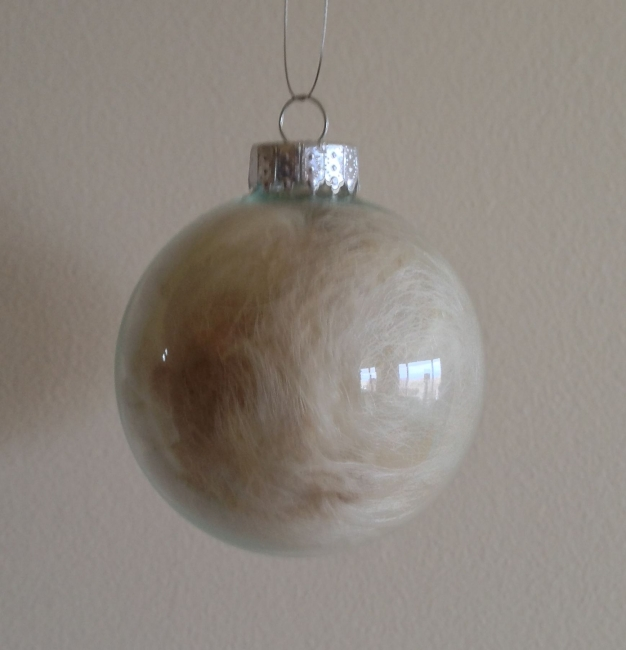 Wool Glass ornament