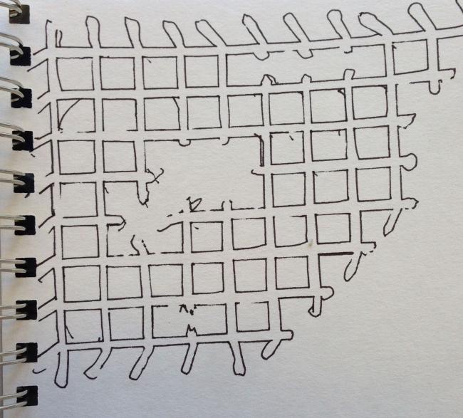 Studio Sketch, breaking the Grid