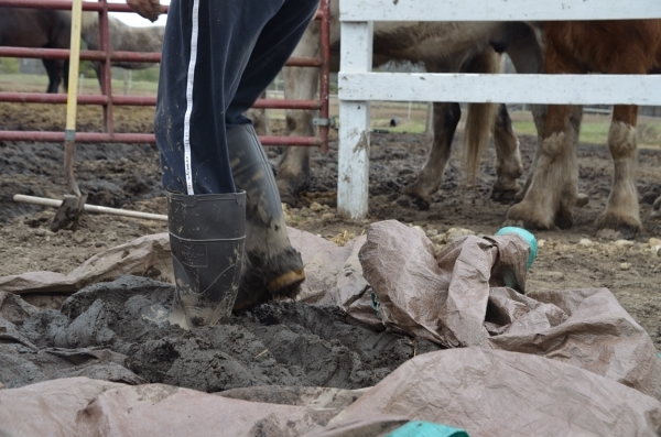 Playing with cobb during mud season. How lucky am I?!