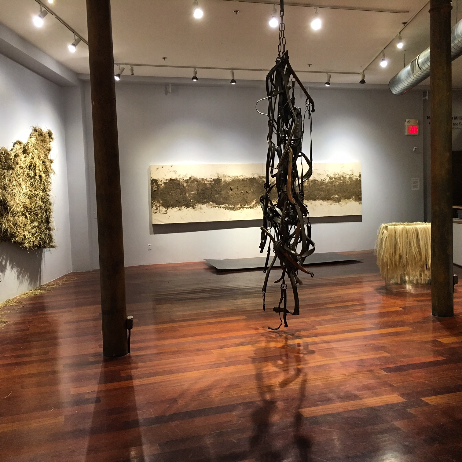 Installation view of Postcards from the Field: Contemporary Pastoralism