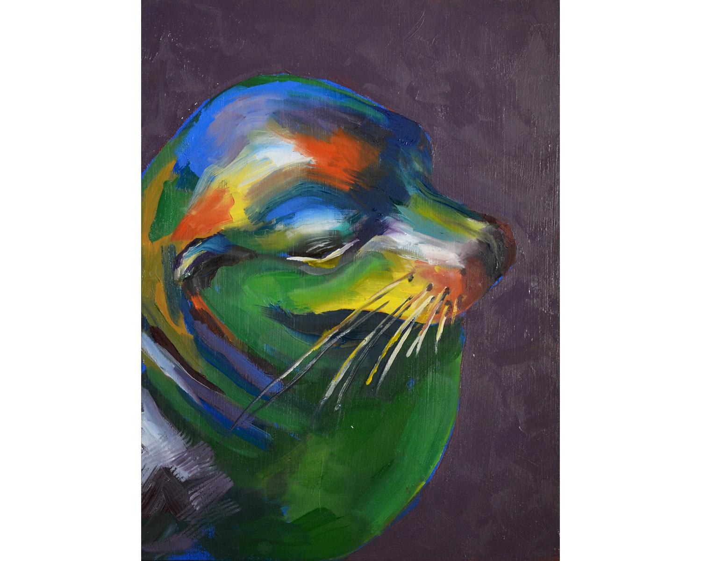 Sea Lion (purple)
