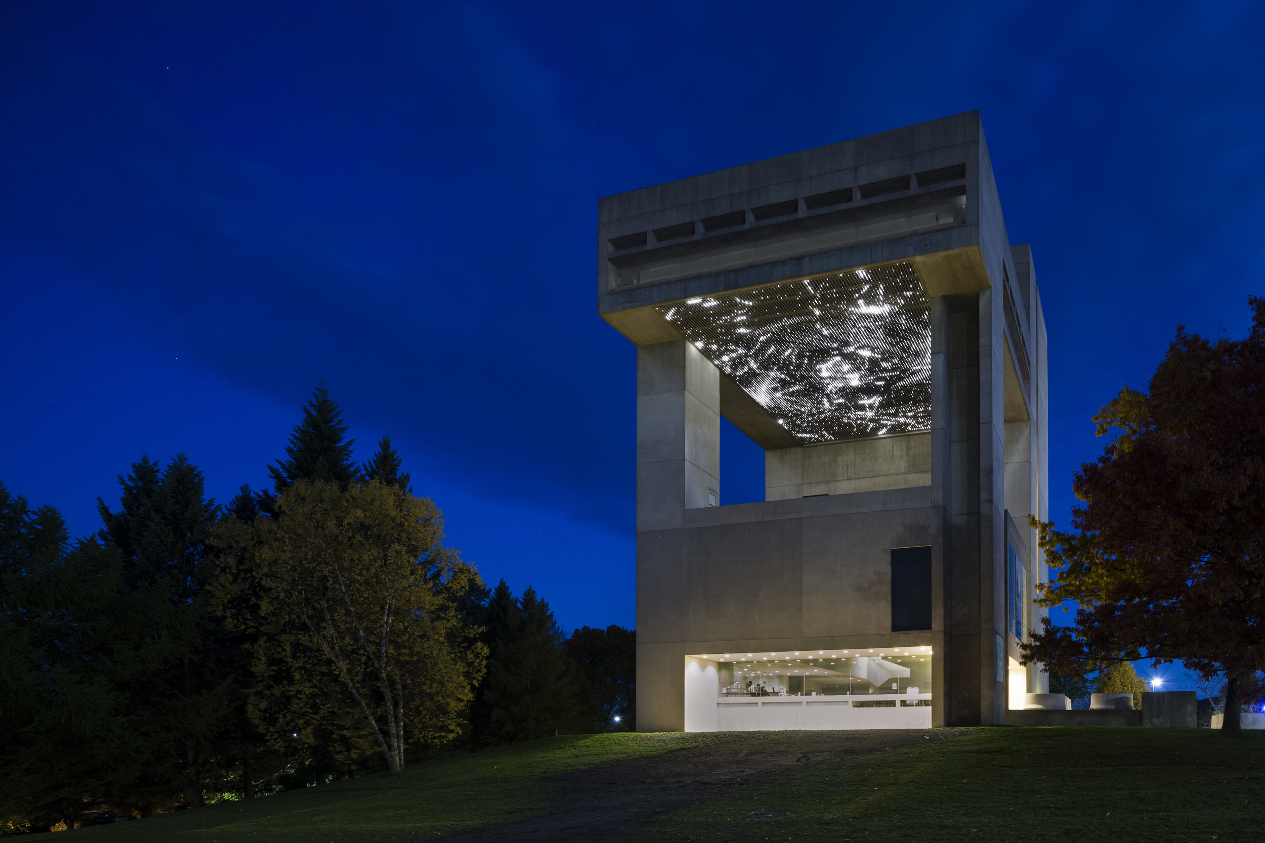 Cosmos , 2012  Site-specific installation: Johnson Museum of Art, Cornell University, Ithaca, NY