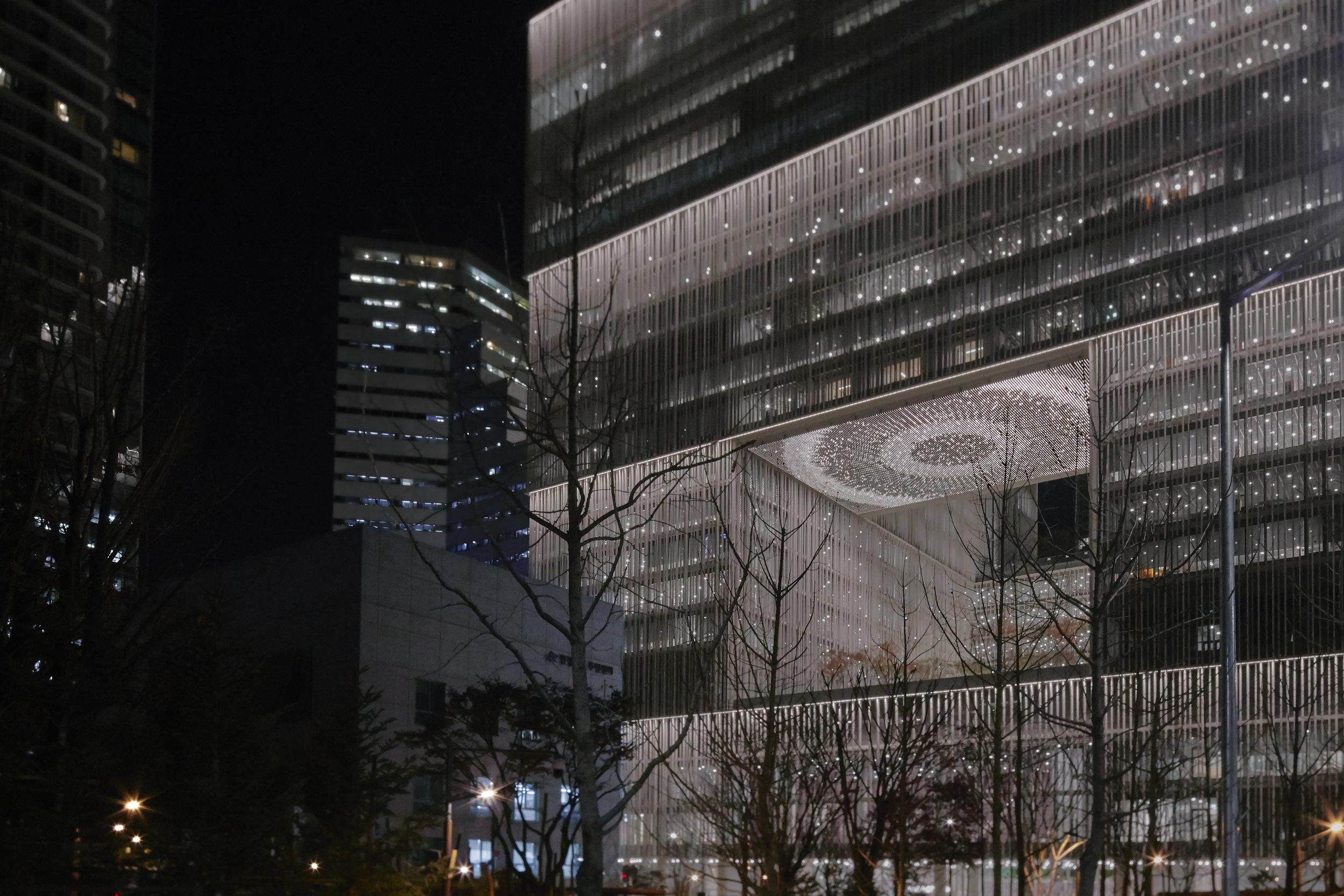 Infinite Bloom , 2017  Site-specific installation: Amorepacific Museum of Art, Seoul, South Korea