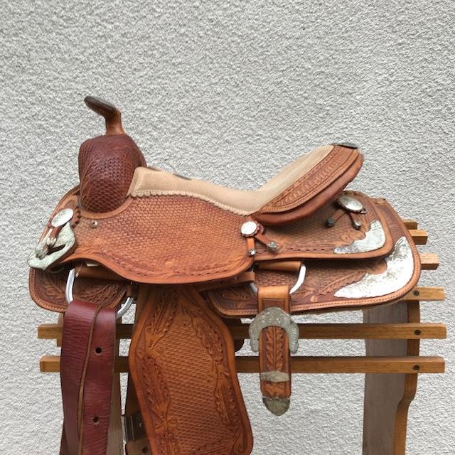 Used Western Leather Saddles — San Diego Saddlery
