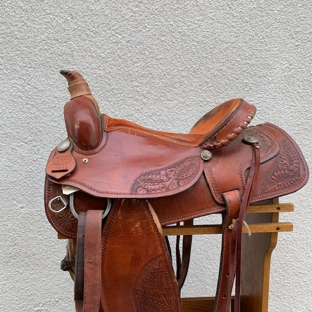 Used Western Leather Saddles — San Diego Saddlery