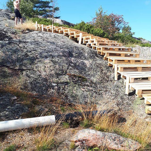 Bröllop på lappo trapp bygge  #Bakaihop2019!